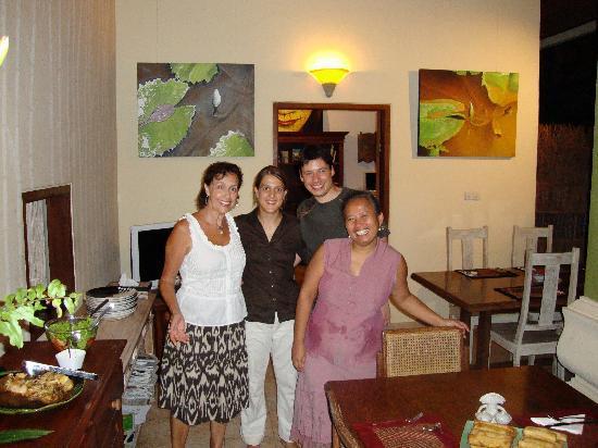 LadyBamboo Villa: Cooking class- delightful Dinner