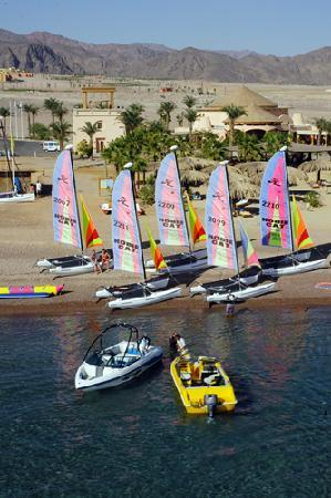 Red Sea Water World Taba Heights: Beach and watersports