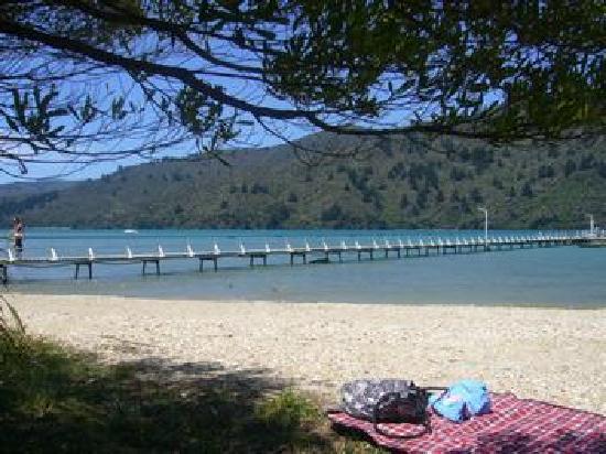 Anakiwa Lodge: Anakiwa Beach