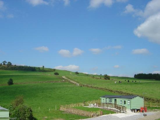 Shaw Farm Static Caravan Park : Static Caravan Park, New Mills in the Peak District