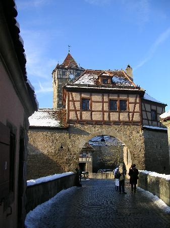 Kathe Wohlfahrt's Christmas Shop: Old town entrance