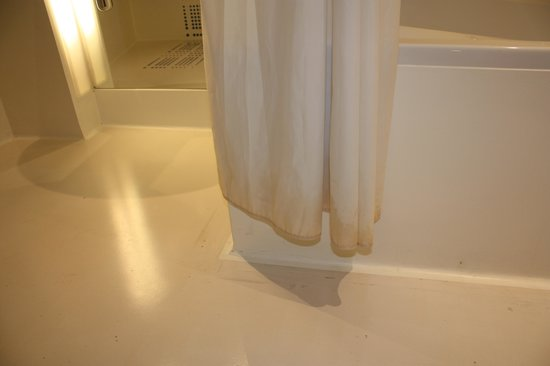 Ibis Styles Amsterdam Central Station: Shower curtain a little grubby