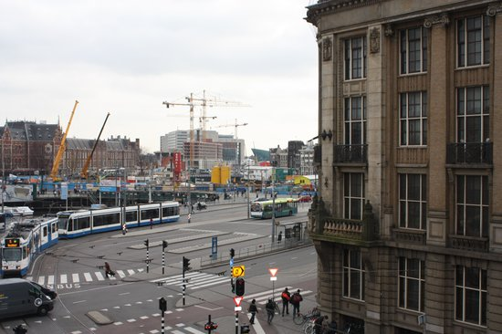 Ibis Styles Amsterdam Central Station: View from our hotel room
