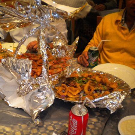 Fares Seafood : il piatto forte