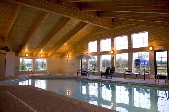 AmericInn Lodge & Suites Charlevoix: Indoor pool, sauna and hot tub.  Open from 7am until midnight daily.