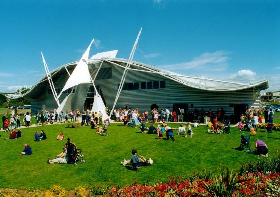 Sandown, UK : Dinosaur Isle external view