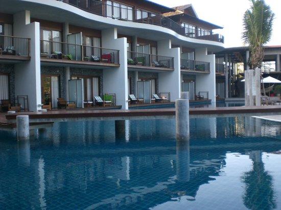 Holiday Inn Resort Krabi Ao Nang Beach: Aussicht morgens