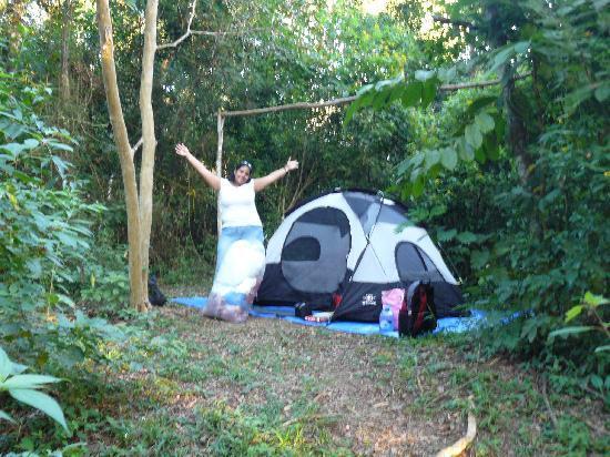 camping at the Trek Stop