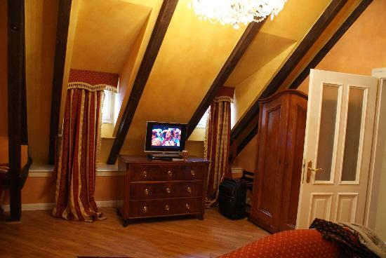 Alchymist Nosticova Palace : Bedroom