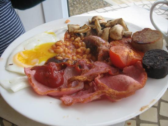 Big english breakfast picture of ten ocean view st ives for 27 the terrace st ives reviews