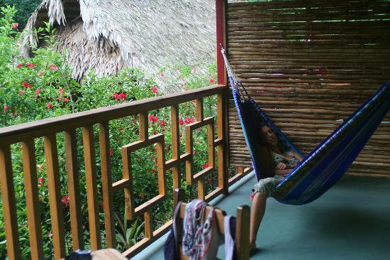 Hotel Blue Conga: balcon