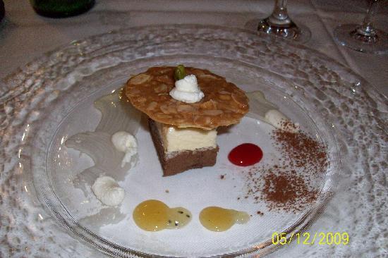 Hotel Austria Bellevue: Great food