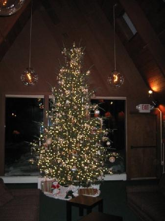 Birch Ridge Inn: The Christmas Tree in the bar