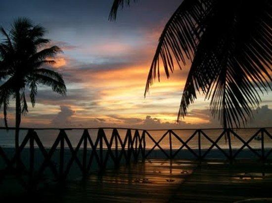 Trattoria Del Mar : il tramonto