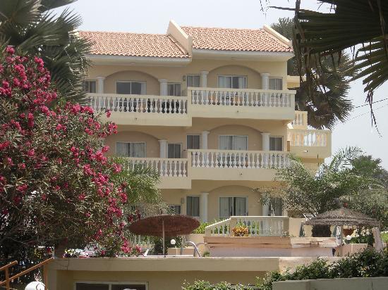Bijilo Beach Hotel: our room, top right corner
