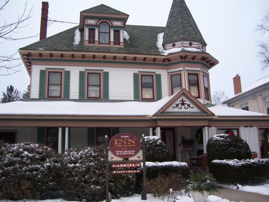 The Inn of New Berlin: The Inn in Winter