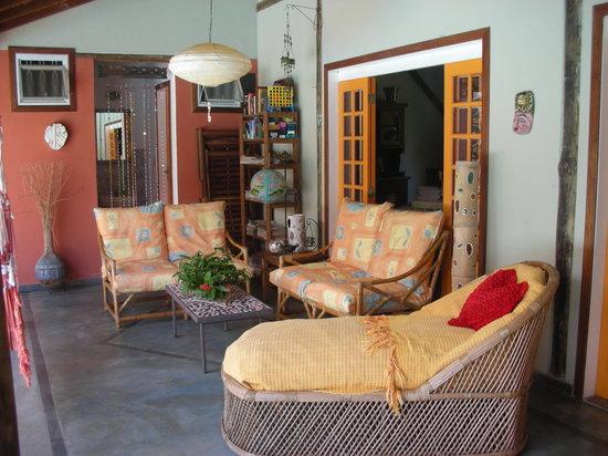 Hotel Pousada Guarana: Lounge area at Pousada Guarana.