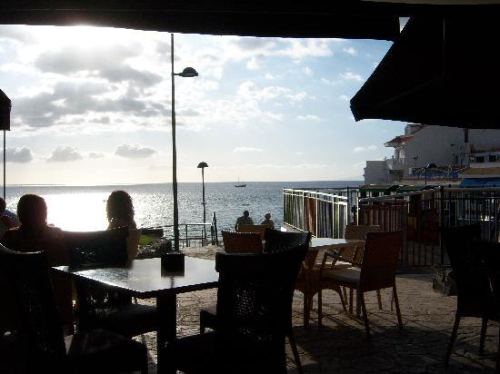 Rosso Sul Mare Restaurant & Wine Bar: View from our table