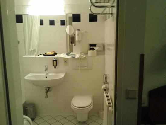 Pension Domizil: The bathroom