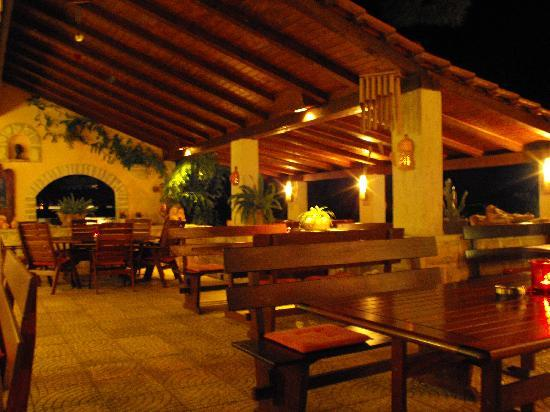 Hotel Skalinada: Terraza-restaurant