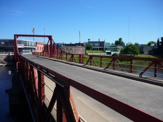Carmelo, Uruguay: Puente Giratorio sobre Arroyo las Vacas