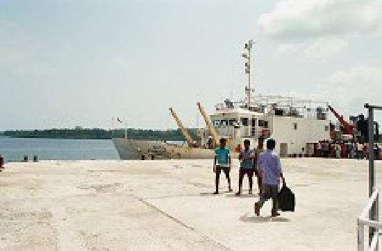 how to go to andaman and nicobar islands by ship