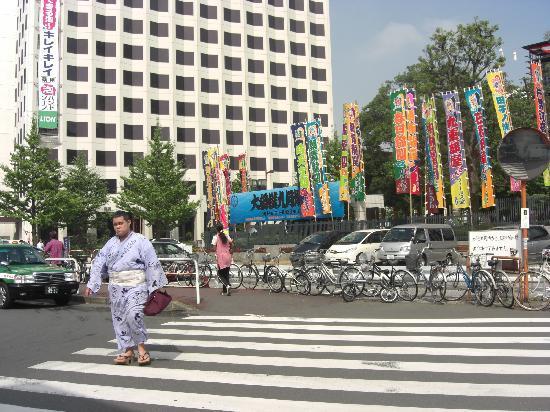 Hotel New Shoei: 相撲センター