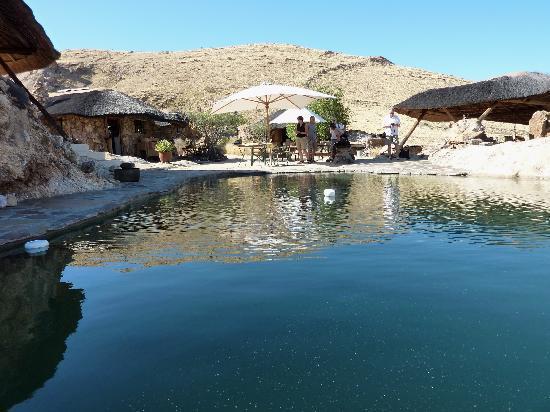 Kobo Kobo Hills Mountain Camp: der Pool, klein aber oho!