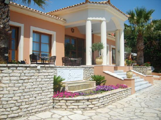 9 Muses Hotel Skala Beach: Reception