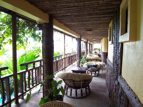Phra Nang Inn: Ausblick von der Terrasse