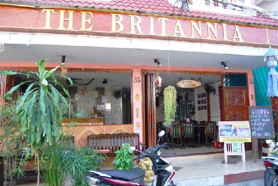 The Britannia: entrance in little paradise