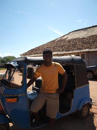 The Fortress: Aja our wonderful tuk tuk driver!