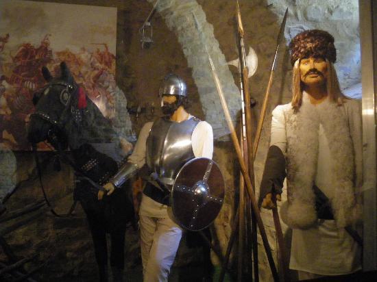Targu Neamt, Romênia: Inside Cetatea Neamţului
