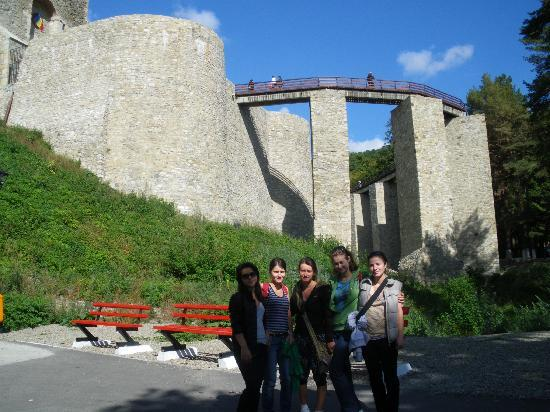 Targu Neamt, Romania: The fortress from down