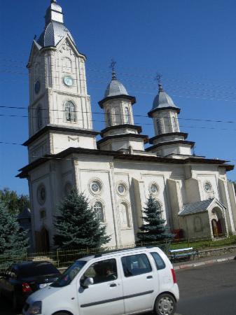 Targu Neamt, Rumania: A church