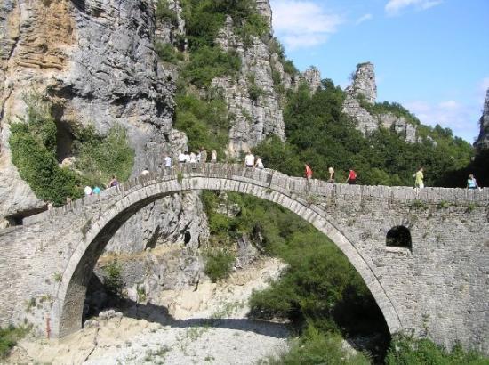 Epirus, Grekland: 1st bridge