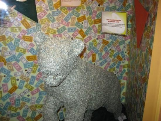Ripley's Believe It or Not: made out of real used money 1 million dollars worth
