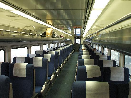 Schiller Guest Suites: Here is what to expect on Amtrak.  Very comfortable and smooth