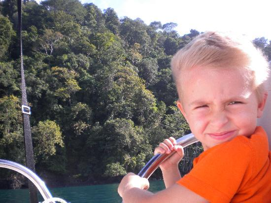 Costa Rica Fishing and Eco Adventure Tours at Crocodile Bay Resort: Enroute to Wildlife Ref