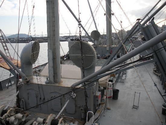 SS Jeremiah O'Brien : Main deck