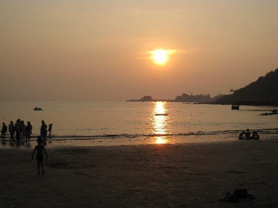 Talisheek, Luizjana: Beautiful sunset at the private beach