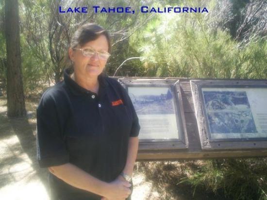 Discover Lake Tahoe Wine and Harvest Tour: Me at Lake Tahoe