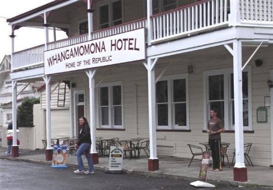 Stratford, Neuseeland: Stop over at Whangamomona