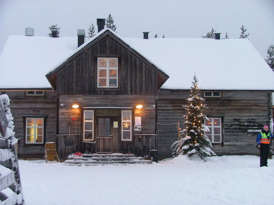 Levilehto Apartments: reindeer farm