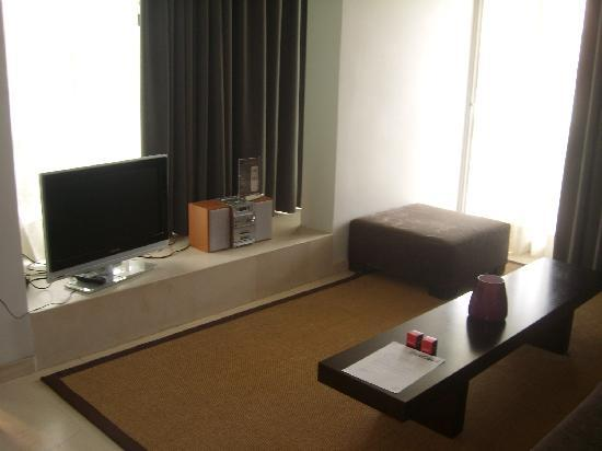 Brasil Suites Hotel Apartments: living room