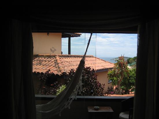 Hotel Pousada Aguazul: Vista desde la habitación
