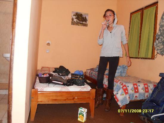 Hostel Irupe: En el cuarto