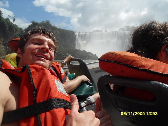 Hostel Irupe: Mi amigo en el bote