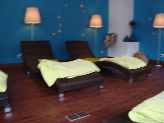 Salle de relaxation fotograf a de chateau des thermes for Salle de relaxation