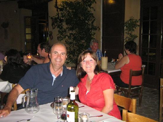 L' Auberge Rognonaise : Table du soir